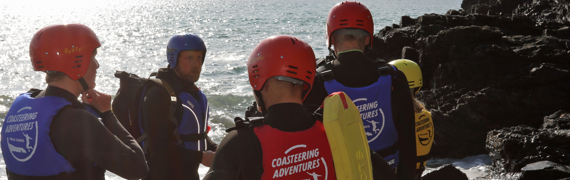 About the team at Coasteering Adventures