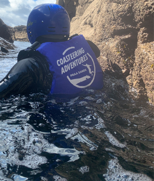 Coasteering and Caving at Praa Sands