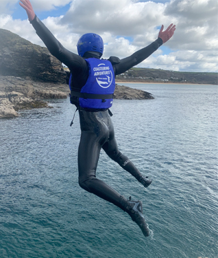 Coasteering Adventures from Praa Sands, Cornwall