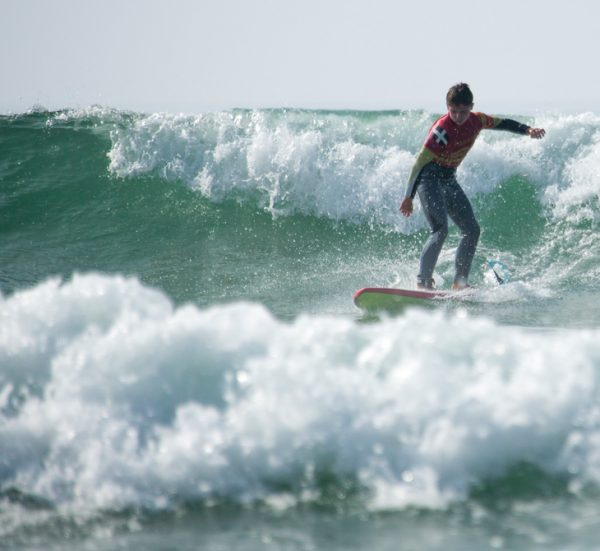 Improver Surf Lessons from Praa Sands, Cornwall