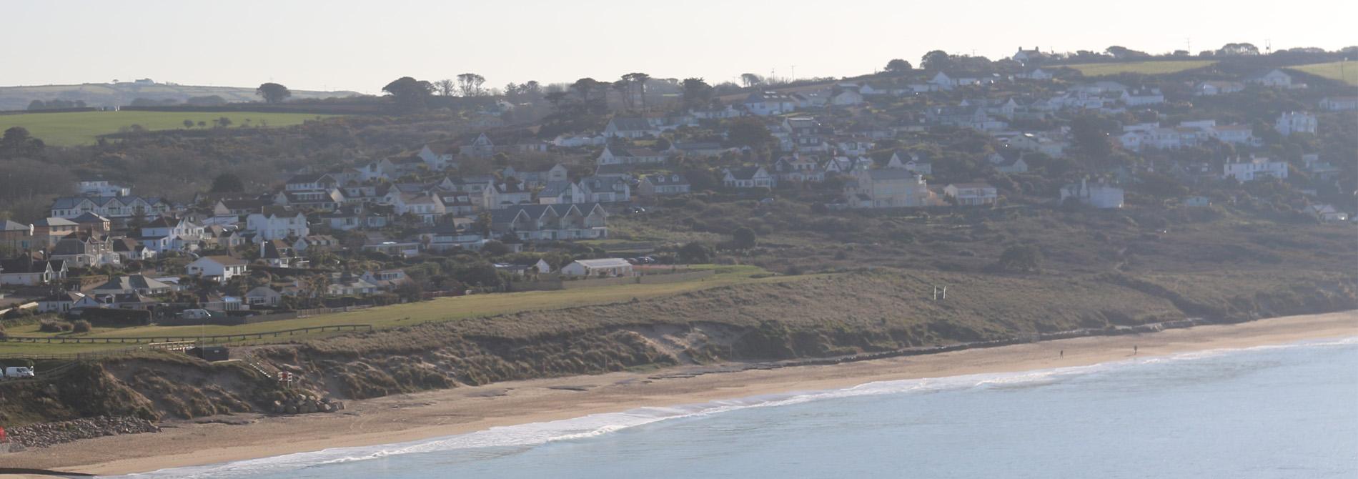 Surf and Coasteering School based at Praa Sands, Cornwall