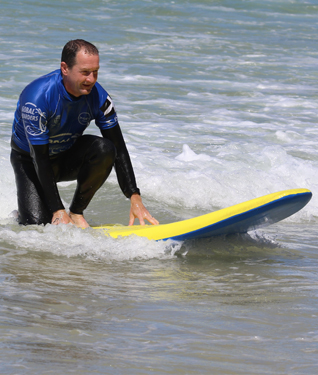 Surf Lessons from Praa Sands and Gwithan, Cornwall