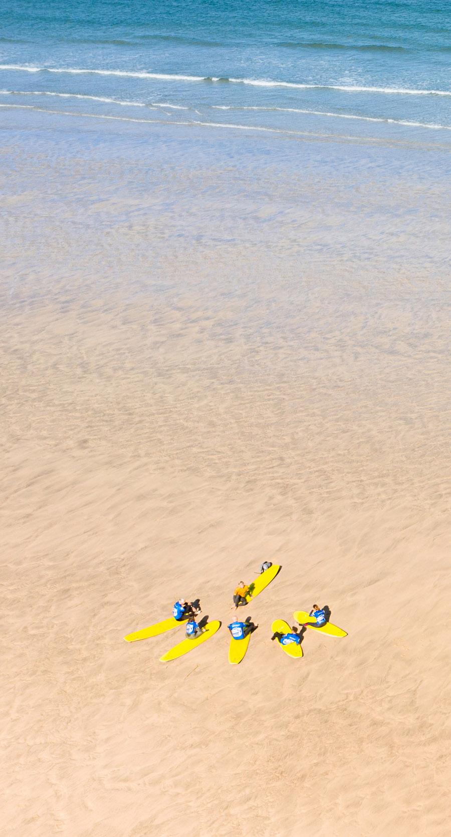 Global Boarders Surf School Praa Sands, Cornwall