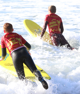 Learn to Surf at Praa Sands with Coasteering Adventures