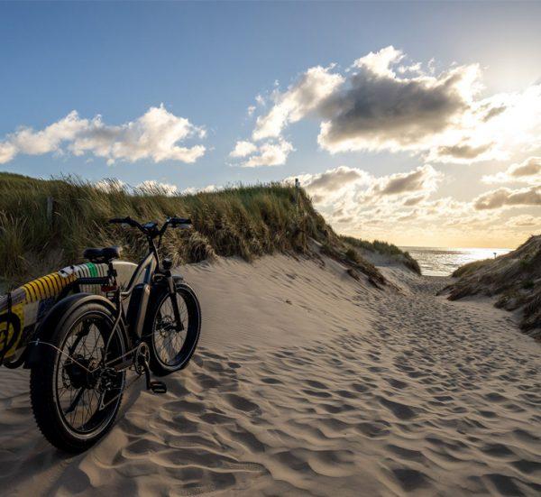 eBike Hire from Gwithian Beach, Cornwall