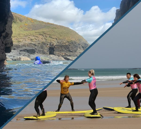 Surfing and Coasteering Packages from Praa Sands, Cornwall.